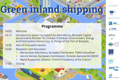 Green Inland Shipping. 16 October 2019. Registration is open