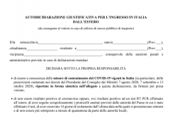 1-self-declaration, from abroad, Italy